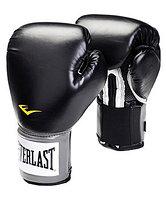 Перчатки бокс. Everlast PU Pro Style anti-mb 14oz черн 2314U (1200014)