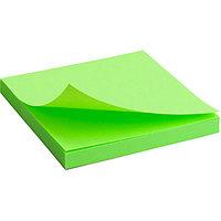 Бумага для заметок самокл. неон 75*75 Axent 2414 зеленая