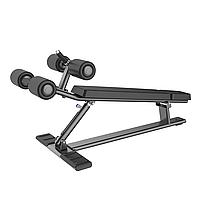 Скамья для пресса регулируемая DHZ Adjustable Decline Bench