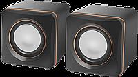 Компактная акустика 2.0 Defender SPK 33 (Black)