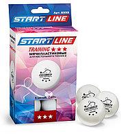 Мячи Start line training 3* (6шт бел)
