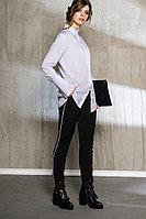Женская осенняя хлопковая серая блуза Anna Majewska 1061 42р.