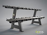 Стойка для гантелей DHZ Dumbbell Rack (10 Pairs)