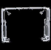 Кроссовер на базе реабилитационного тренажера (стек 2х75кг)