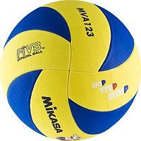 Мяч волейб. Mikasa ( 5, желт/син)