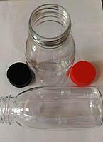 Бутылка 300мл PET 38мм прозр.кругл+крышка(упак.=300шт)