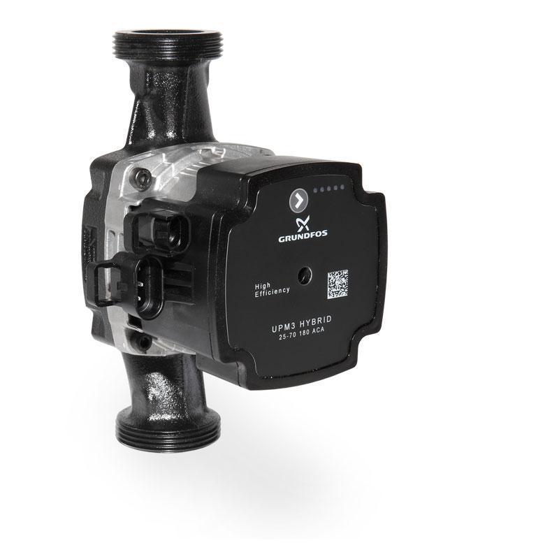 Циркуляционный энергоэффективный частотный насос Grundfos UPM3 Hybrid 25-70 / 180