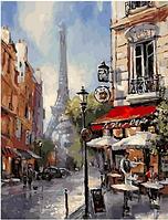 "Картина по номерам ""Улочка Парижа"" 40х50 см"