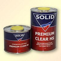 Двухкомпонентный лак SOLID PREMIUM CLEAR HS 2:1 по 1,5л