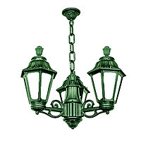 FUMAGALLI Подвесной уличный светильник FUMAGALLI SICHEM/RUT 3L (люстра) E26.120.S30.VYF1R