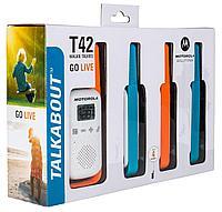 Радиостанции TALKABOUT T42 Quad Pack (Motorola, США)
