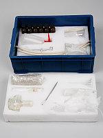 Набор химической посуды и принадлежностей для лабораторных работ по биологии