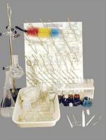 Набор химической посуды и принадлежностей по биологии для демонстрационных работ