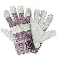 """Перчатки спилковые зимние, усиленные / Gloves cow split, winter 10.5"""" (LC21231-W)"""
