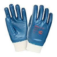 Перчатки, химическистойкие с ПВХ покрытием двухсторонней