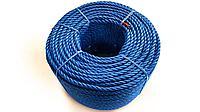 Канат, полиэтилен, 3-жильный, цвет: синий / Rope PE, 3 strand, code: 181920, color: blue