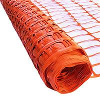 Дорожная заградительная сетка 1Мх50М, оранжевая / Road barricade mesh 1mx50m, orange color