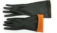 Промышленные латексные перчатки двойной цвет