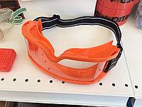 Очки защитные закрытые, оранжевая оправа GB05