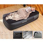Односпальная надувная кровать со встроенным насосом, Intex 64122