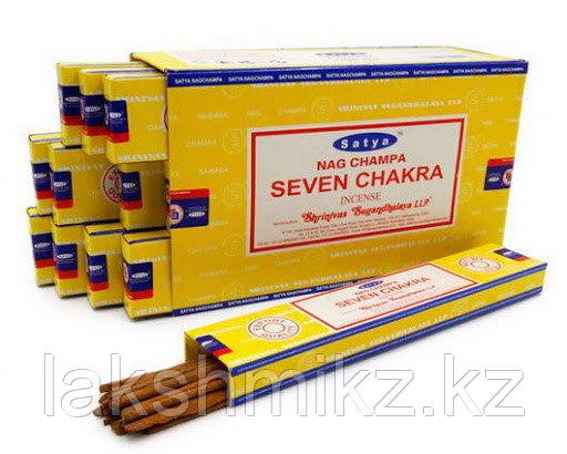 "Благовония ""Satya"" Seven Chakra 15 грамм"