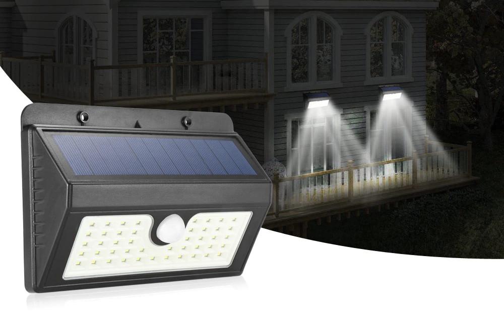 Сенсорный светильник на солнечной батарее 20 LED Черная Пятница!
