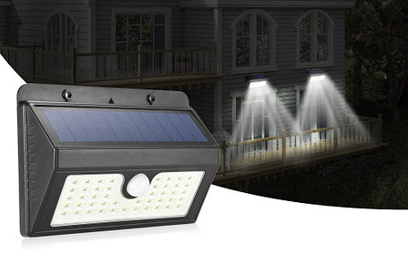 Сенсорный светильник на солнечной батарее 20 LED Черная Пятница!, фото 2