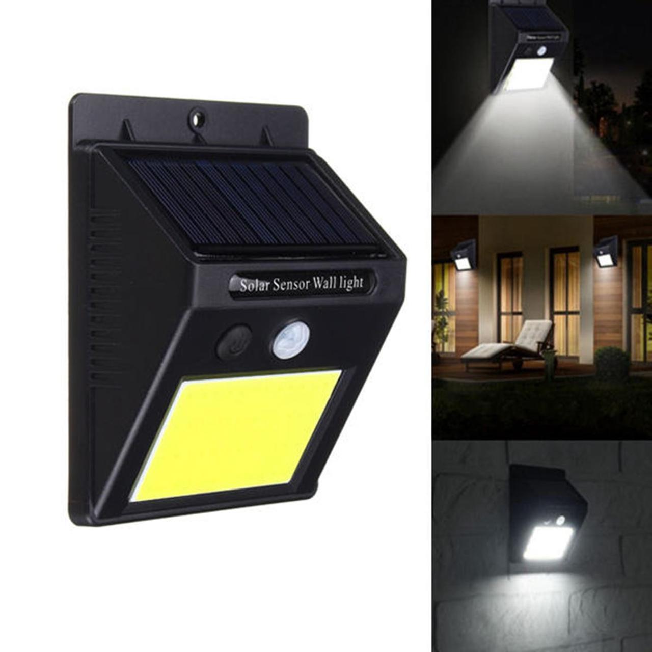 Светильник с датчиком движения на солнечной батарее 48 LED. С Днем Автомобилиста!