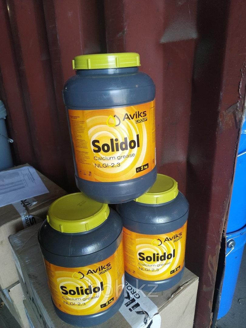 Солидол Жировой ГОСТ 1033-79 Банка 2 кг