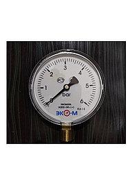 Манометр Экомера МД02-100мм 0..6бар G 1/2 ЭКОНОМ