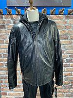 Куртка кожаная зимняя Harry Bertoia (0244)