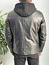 Куртка кожаная зимняя Harry Bertoia (0244), фото 10