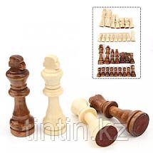 Деревянные шахматные фигурки - 105 мм, фото 2