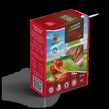 Печенье 3 пользы с перчиком  ,150 гр