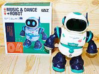 6678-4 Dance-Robot робот: танцует,музыка,свет 21*20см, фото 1