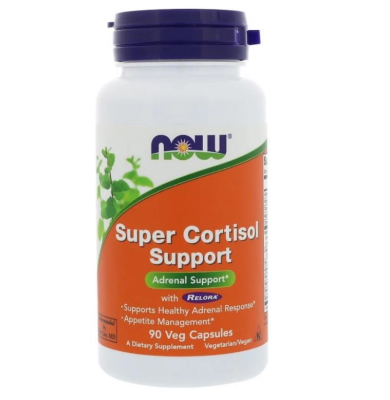 Now Foods, Super Cortisol Support, 90 растительных капсул
