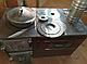 Чугунная отопительно-варочная печь с духовкой Мастерпечь ПВ-05, фото 3