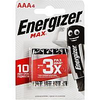 Батарейка алкалиновая Energizer Max AAA/LR03 , 1.5V