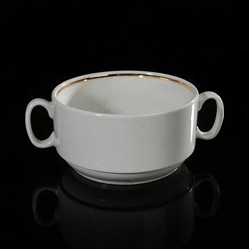 Чашка для бульона без деколи 470 мл, цвет белый