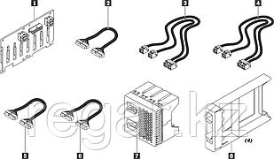 """Элемент корпуса Lenovo ThinkSystem SR550/SR650 2.5"""" SATA/SAS 8-Bay Backplane Kit"""