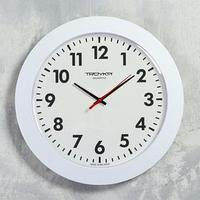 Часы настенные круглые 'Ритм времени', d30,5 см, белые