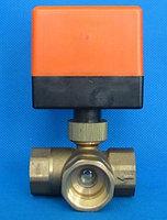 Клапан 3-х ходовой с сервоприводом HDQ-DN20