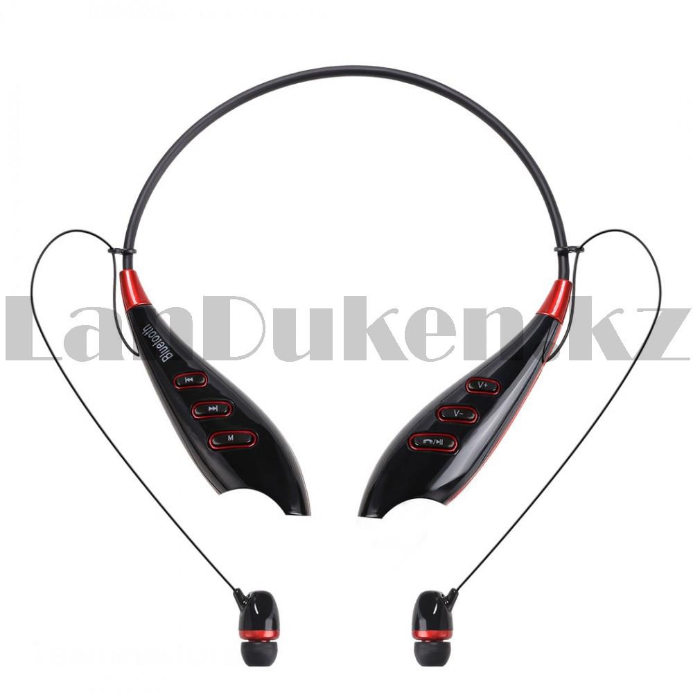 Беспроводные стерео Bluetooth наушники LG-S740T черные - фото 4