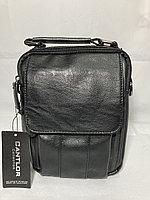 """Мужская сумка-барсетка через плечо""""Cantlor"""".Экокожа.Высота 23 см, ширина 18 см, глубина 5 см., фото 1"""