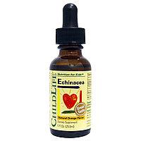 ChildLife, Essentials, эхинацея, с натуральным вкусом апельсина, (29,6 мл)