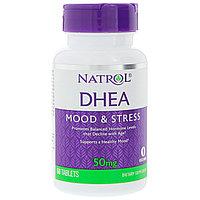 Natrol, DHEA, (ДГЭА) 50 мг, 60 таблеток