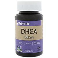 MRM, DHEA (ДГЭА), 50 мг, 90 капсул на растительной основе