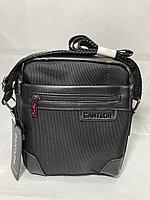 Компактная сумка-почтальонка через плечо.Текстиль.Высота 20 см,ширина 18 см, глубина 5 см., фото 1