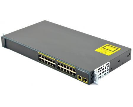 Cisco WS-C2960-24TT-L Коммутатор Catalyst 2960 24 10/100 + 2 1000BT LAN Base Image