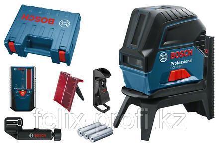 Лазерный нивелир BOSCH  GCL 2-50 + RM1 + BM3 + LR6 + кейс